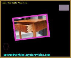 Free End Table Plans Woodworking by Outdoor End Table Plans Free 090707 Woodworking Plans And