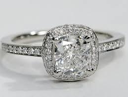 platinum halo engagement rings halo engagement ring with pave diamonds in platinum engagement