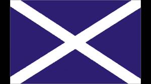 Blue Flag White X Scotland The Brave 1982 Fifa World Cup Rare Version Youtube
