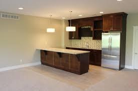 great classic vanilla color resilient porcelain tile kitchen floor