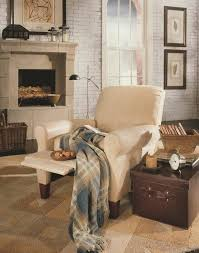 magnificent rocker recliner in family room traditional with swivel