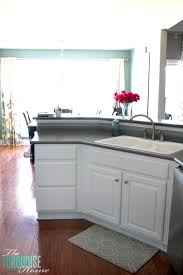 bm simply white on kitchen cabinets painted kitchen cabinets with benjamin simply white