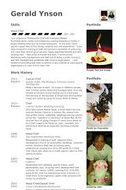 Visual Resume Samples by Chef Resume Template Resumegraphic Designer Biodata Pastry Chef