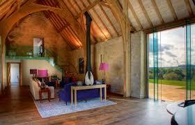 natural small interior design of the barn garage converted to a modern natural design of the barn garage converted to a home with wooden floor can be