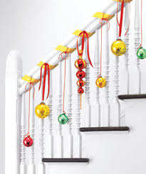 How To Decorate A Banister 30 Simple Festive Holiday Decor Ideas Real Simple