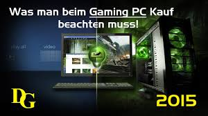 Kauf Kaufen Was Man Bei Dem Pc Kauf Beachten Muss Gaming Pc Kaufen