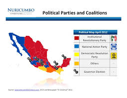 political map of mexico political and coalitions political map april 2012 institutio