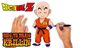 draw krillin dragon ball