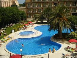 hotel piscine dans la chambre piscine vue de notre chambre picture of park hotel malgrat