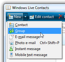 membuat group di yahoo mail create contact groups in windows live mail