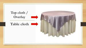 silence cloth table pad table appointments