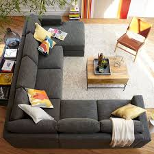 Media Room Sofa Sectionals - u shaped sectional for new garage conversion family room project