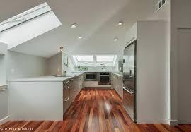 long narrow kitchen design