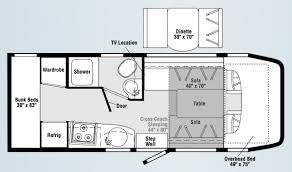 Winnebago Rialta Rv Floor Plans Winnebago Floor Plans Cl B Carpet Vidalondon
