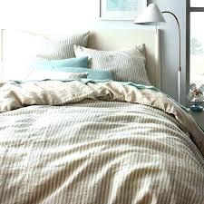light blue duvet covers king striped flax linen duvet cover shams