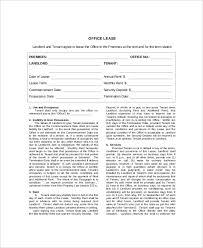 doc 740979 sample office lease agreement template u2013 13