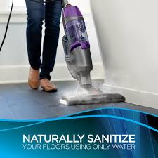 Can A Steam Cleaner Be Used On Laminate Floors Amazon Com Bissell Symphony Pet All In One Vacuum And Steam Mop