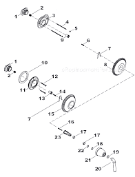 kohler shower parts diagram price pfister series 08 09 single