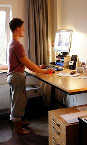 Computer Desk Posture Discovering The Standing Desk By Accident Fitness Nutrition