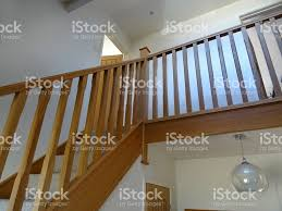 image of modern lightoak stair spindles wooden staircase balusters