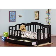 Daybed With Drawers Dream On Me Toddler Bed And Daybed With Storage Drawers In Black