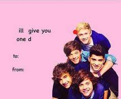 one direction valentines one direction s day cards