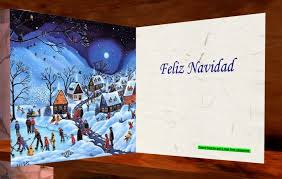 feliz navidad christmas card second marketplace jseven christmas card with and