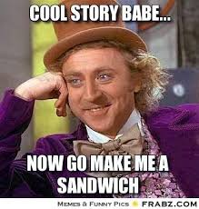 Sandwich Meme - the second sandwich think spot