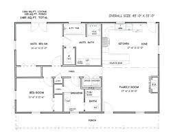 small efficient house plans 4 bedroom single floor house plans kerala style floor plan houses