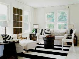 Hanging Lamp Soft White Fabric Riclining Sofa Cushions Flower Vase - Black and white living room decor