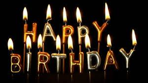 happy birthday candles happy birthday candles stock footage 3779867