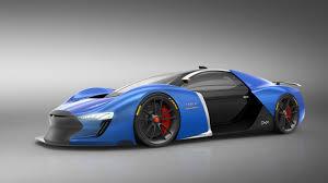 tesla supercar spanish designer dreams up futuristic tesla supercar