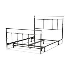 Aluminum Bed Frame Winslow Complete Bed With Metal Panels And Aluminum