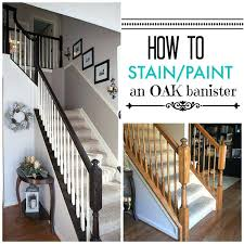 painting metal stair rails timeless and treasured my three girls how to stain paint oak banisters