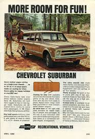Oldride Classic Trucks Chevrolet - 1968 chevrolet suburban advertisement photo picture