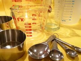 equivalence poids et mesure en cuisine table d équivalence pour recettes impériales et métriques dans
