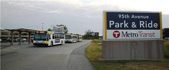 park and ride system has plenty of room as usage drops slightly in