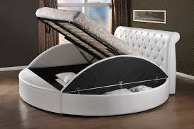 Circular Bed Frame Beds Collection Storage Ideas Frames Dma Homes 66767