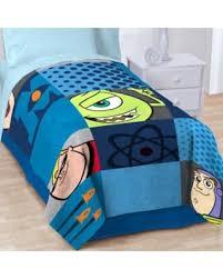 bargains on filmstrip fleece blanket by disney pixar
