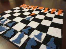 diy chess board for kids crafts to do with kids