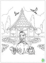 disney tangled coloring pages printable princess sofia pets