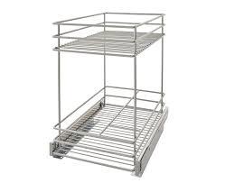 2 tier kitchen cabinet pull out basket u0026 reviews joss u0026 main