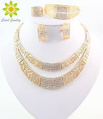 rhinestone necklace sets images Buy jewelry sets fashion wedding accessories african jewelry sets jpg