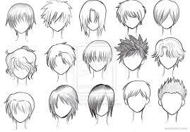 anime hairstyles tutorial drawing anime characters bik drawing
