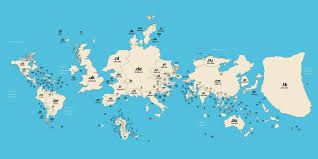 United States World Map by The United States Is A Small Fish On This Map Of The World U0027s Web