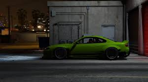 nissan silvia s15 rocket bunny add on replace gta5 mods com