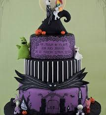 nightmare before christmas cake toppers modest ideas nightmare before christmas wedding cake topper
