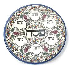 messianic seder plate a messianic haggadah sixty guilders
