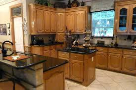 oak kitchen island with granite top kitchen island with black granite top meetmargo co