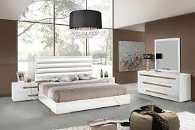 Bedroom Sets White Tags  Modern Leather Bedroom Furniture Bedroom - Modern white leather bedroom set